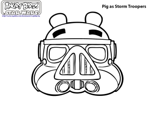 Free Angry Birds Star Wars Coloring Pages Free Printable, Download ... | 232x300